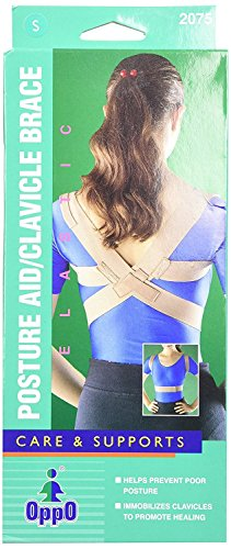 Oppo Medical Elastic Posture Aid /Clavicle Brace (Unisex; Natural), X-Large