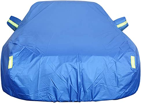 Car cover Ford Mustang Car Cover Special Car Tarpaulin Car Cover Rainproof Sunscreen Thickening Insulation Car Cover color : Black