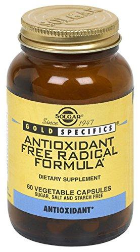 Solgar Antioxidant Free Radical Formula Vegetable Capsules, 60 Count