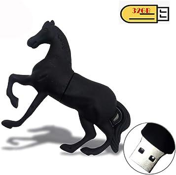 NEW Cute Horse Cartoon Model USB2.0 8GB-64GB flash drive memory stick pen-drive