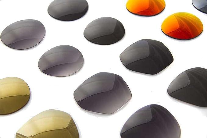 0b9316e8742b Amazon.com: SFx Replacement Sunglass Lenses fits EMPORIO ARMANI EA 2002 57mm  wide (Polycarbonate Clear Hardcoat Pair-Regular): Clothing