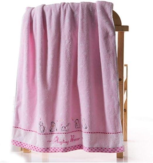 Ding&ng Toalla de baño de algodón, Toalla de baño Suave y cómoda ...