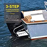 CO-Z 3-Step Collapsible Pool Ladder   Telescoping