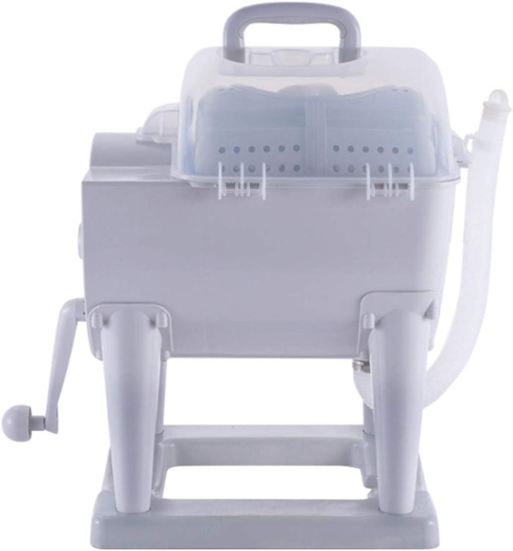 GZMUK – Health & Personal Care lavadora no eléctrica manual Powered lavadora manual Rotary secadora Mini-Desktop-Trockner Camping 4 kg gran capacidad