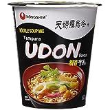 Nongshim NS01709 Tempura Udon Cup Noodle Soup, 62 Gram (Pack of 6)