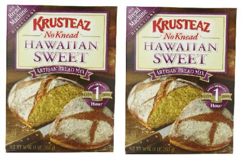 (Krusteaz No Knead Hawaiian Sweet Bread Mix (16 oz Boxes) 2 Pack)