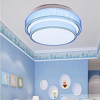 Lonfenner Deckenleuchte Drei Farbe Licht Schlafzimmer Runde Minimalist  Modern Home Master Schlafzimmer Lampen Und Laternen 51Cm