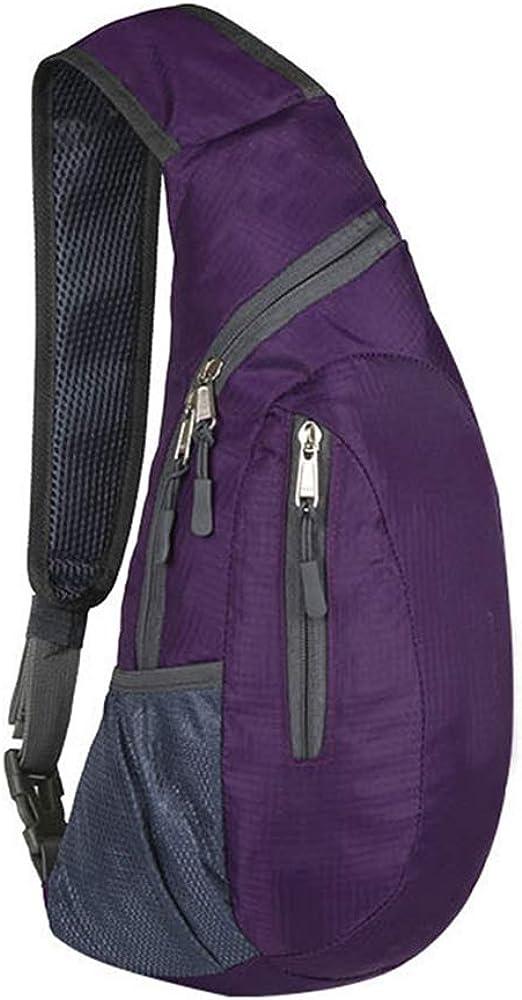 Toomett Sling Bags Men/&Women Shoulder Backpack Mini Chest Day Backpack Small Cross Body Sling Backpack