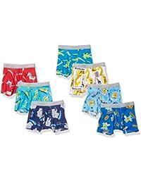 Boys' Tagless Super Soft Boxer Briefs 7-Pack