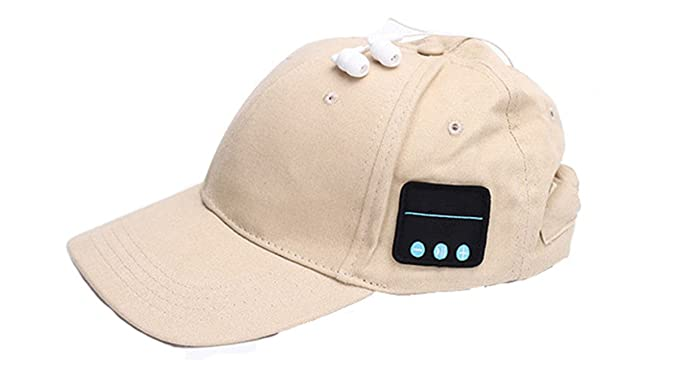 100e7782424 Summer Bluetooth Baseball Cap Sun Hat Smart Wireless Bluetooth Headset Sports  Cap Music Speaker Mic Summer