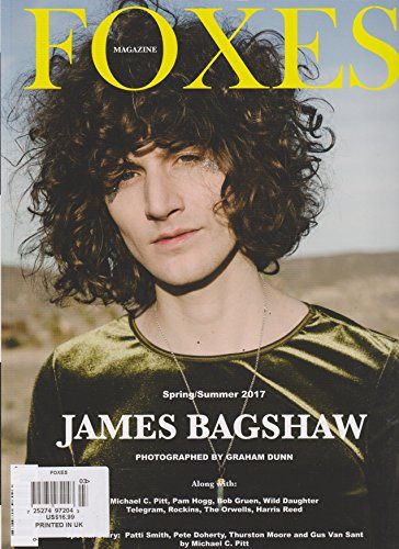 Foxes Magazine Spring/Summer 2017, used for sale  Delivered anywhere in USA