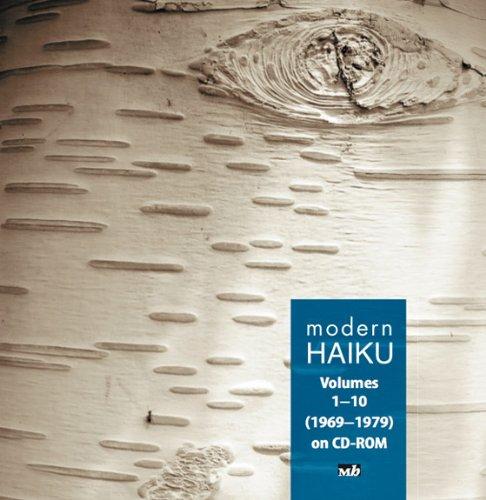 Modern Haiku Volumes 1-10 (1969-1979) on CD-ROM