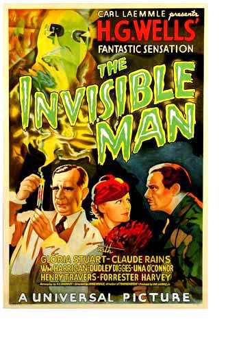 Image result for the invisible man movie poster