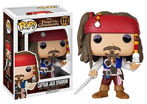 Funko Pop Disney Pirates of The Caribbean Captain Jack Sparrow Vinyl Toy Figure