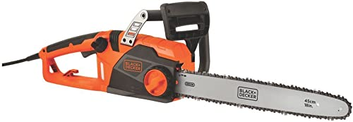 BLACK DECKER CS1518 15amp 18 Corded Chainsaw Renewed