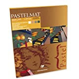 Clairefontaine Pastelmat Pad Achromatic Shades 360g 30x40cm, 12 Sheets