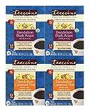 Cheap Teeccino Dandelion Root Roasted Herbal Tea, Variety Pack (Dandelion Dark Roast, Dandelion Caramel Nut), Caffeine Free, Gluten Free, Acid Free, Prebiotic, 10 Tea Bags (Pack of 4)