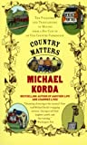 Country Matters, Michael Korda and Success Research Cor Staff, 0060957484
