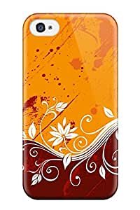 Hot Snap-on Pattern Color Vectors Hard Cover Case/ Protective Case For Iphone 4/4s