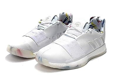 900c98ec1ab6 songmingjun Mens Shoes Harden Vol 3 Basketball Shoes White Light Grey (40EU)