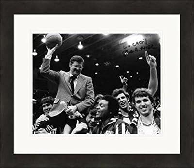 Signed Joe Hall Photograph - 8x10 Kentucky Wildcats Coach 1978 NCAA Basketball Mens National Championship) #SC3 Matted & Framed