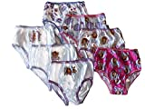 Disney Little Girls' Seven-Pack Princess Sofia Panties, Assorted, 4T