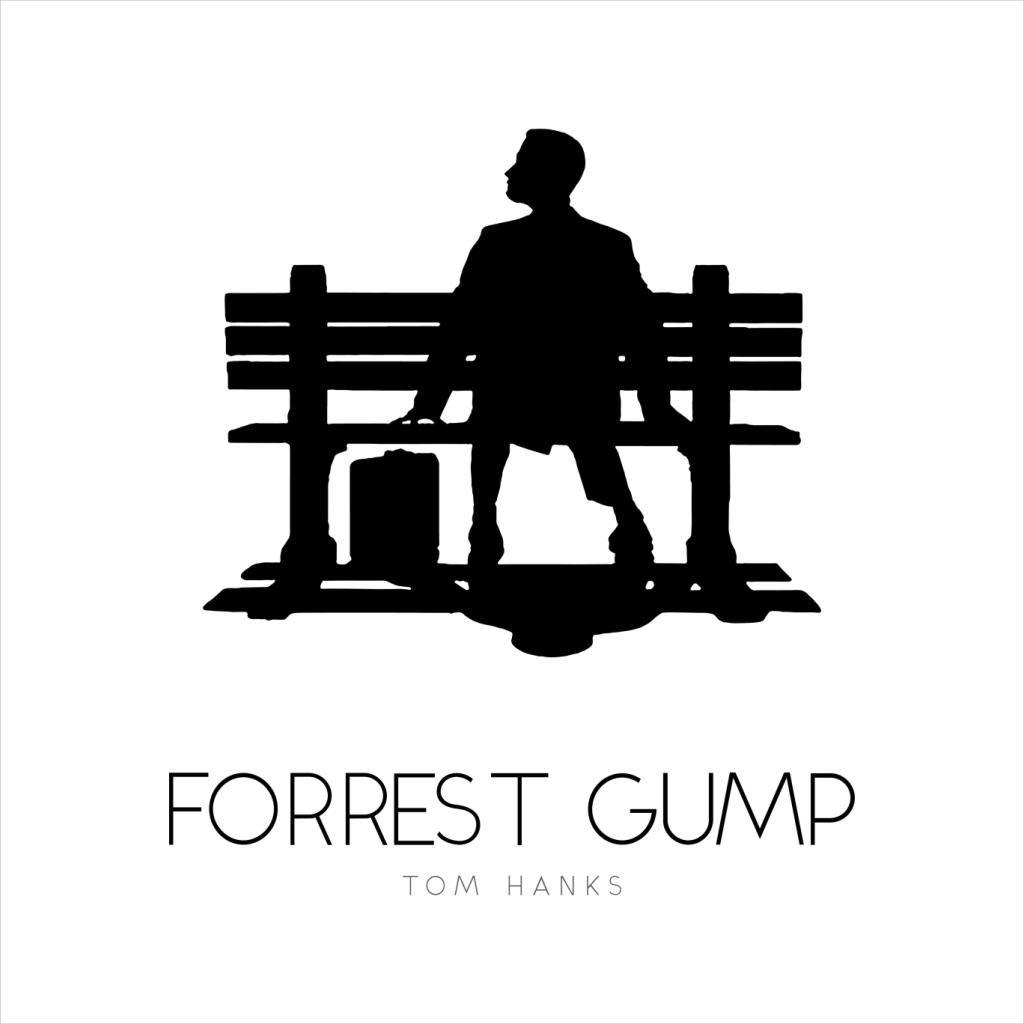 Forrest Gump Bench Movie Silhouette Kids Sweatshirt: Amazon.es: Ropa y accesorios