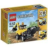 レゴ (LEGO) クリエイター バックホーローダー 31041