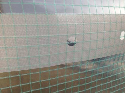 au m/ètre HaGa/® Film de protection pour tunnel de serre 2 m de largeur