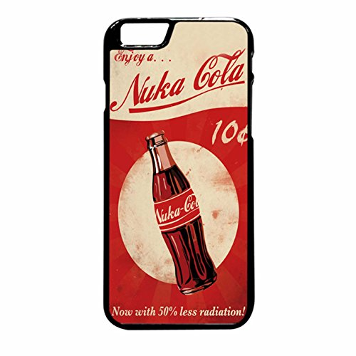 Fallout 4 - Nuka Cola - Logo iPhone 6 Plus/6s Plus Case (Black Plastic)