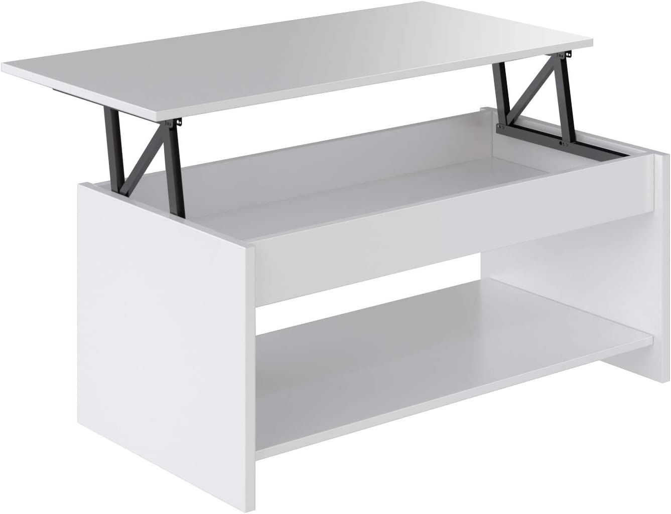 Marca Amazon - Movian Aggol Modern - Mesa de centro elevable con ...