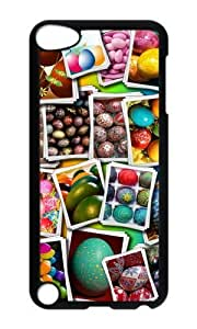 Ipod 5 Case,MOKSHOP Cool Happy Easter Day Hard Case Protective Shell Cell Phone Cover For Ipod 5 - PC Black