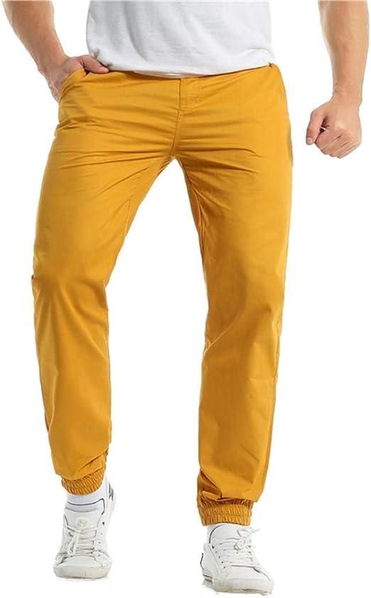 Pantalones de chino ajustados para hombre, estilo informal ...