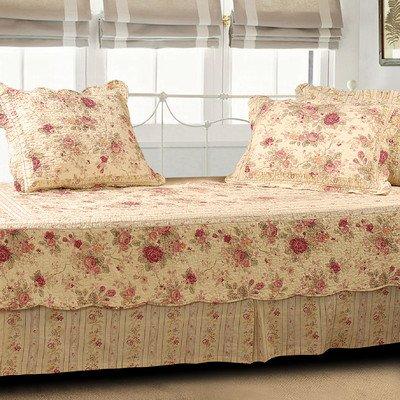 Antique Rose 5 Piece Daybed Set