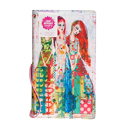 Jane Davenport Mixed Media 7 Piece Butterfly Book Sisters, None