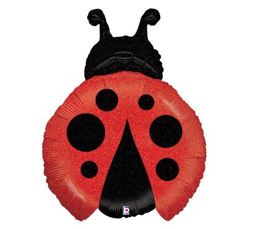 """Betallic 85667 Little Ladybug Shop Foil Balloon Flt, 27"""""""