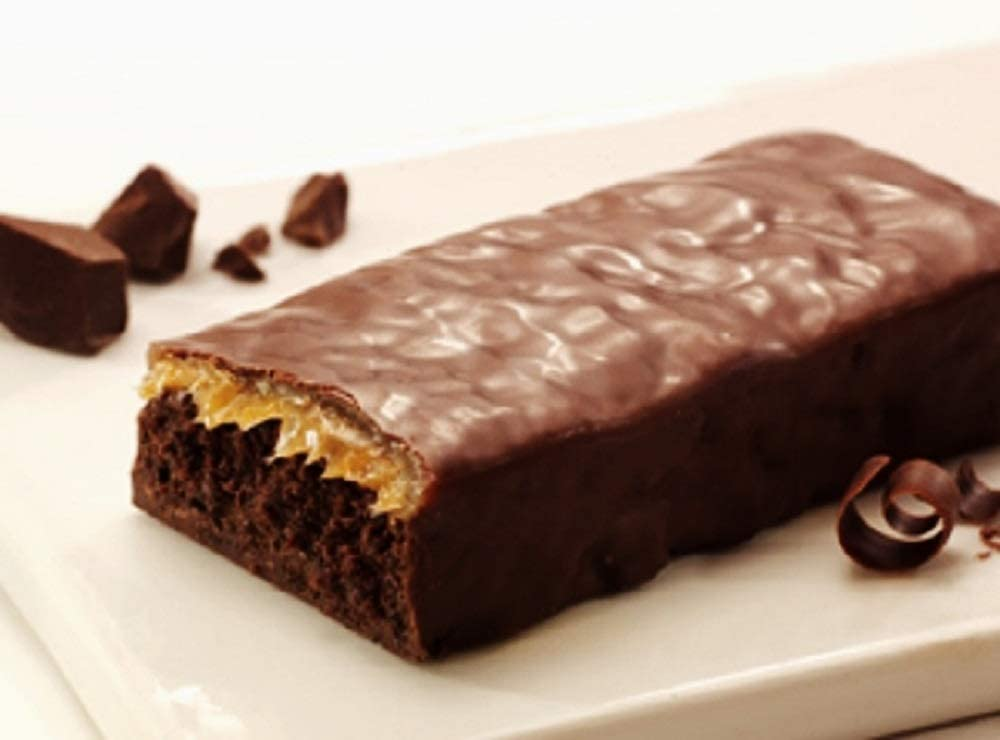 Nutrisystem Lunch Double Chocolate Caramel Bar (5 Count) 180 Calories 6.0g Total Fat 7g Dietary Fiber 10g Protein