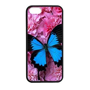Butterfly On Roses Case For Samsung Galaxy S5 Cover case