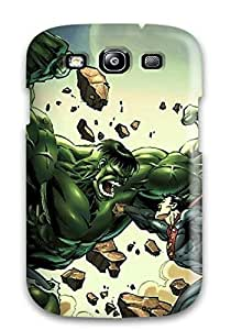 Hot First-class Case Cover For Galaxy S3 Dual Protection Cover Hulk