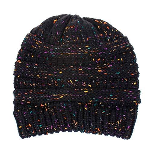 URIBAKE Men Women Slouchy Caps Baggy Warm Crochet Winter Wool Knit Ski Beanie Skull Hat