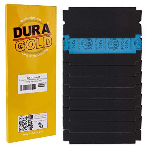 10 Lijas Dura-Gold 10.8cm x 28.5cm Grano 240