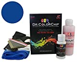 Dr. ColorChip Ford Mustang Automobile Paint - Deep Impact Blue J4 - Squirt-n-Squeegee Kit