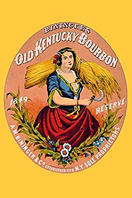 Buyenlarge 'Bininger's Old Kentucky Bourbon' Paper Poster, 20 by 30-Inch