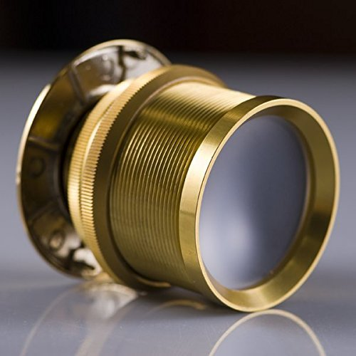 Ultra Wide Angle Door Viewer Ds238 - Brass Anodized