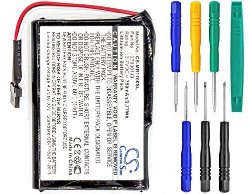 - Cameron Sino 750mAh Li-ion High-Capacity Replacement Batteries for Magellan RoadMate 1700, fits Magellan 2793801J3 with tools kit
