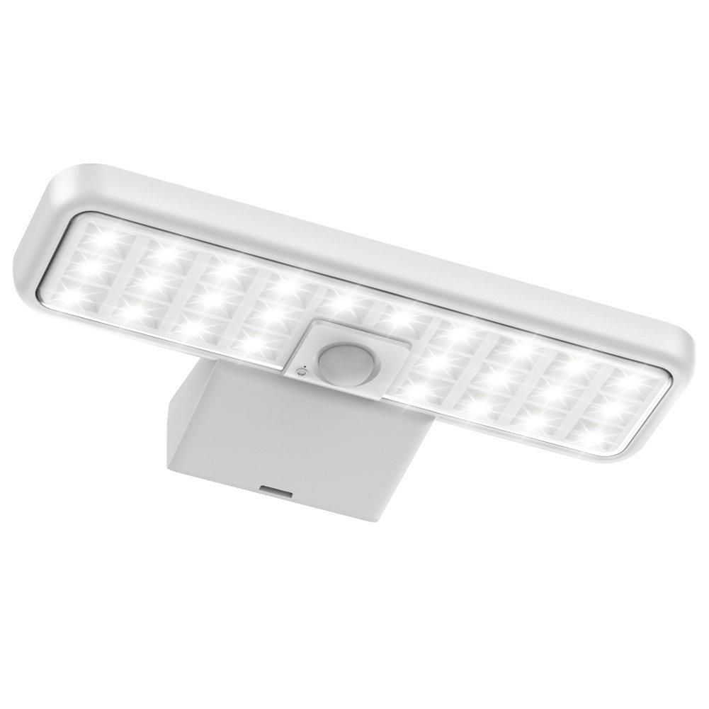 InnoGear Solar Lights Outdoor, 26 LED Motion Sensor Light Waterproof Security Lighting Wall Sconce for Front Door, Back Yard, Driveway, Garage