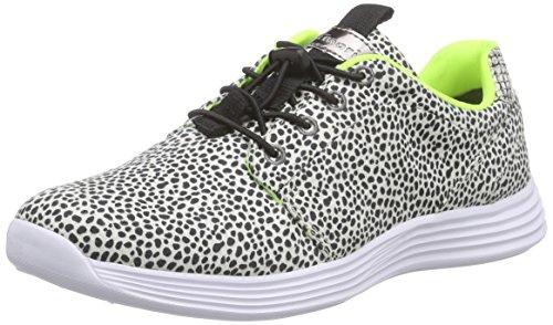 Tamaris Damen 23707 Sneaker Mehrfarbig (BLACK DOTS 055)