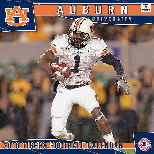 Auburn Tigers 2010 Wall Calendar