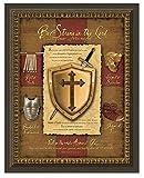 Carpentree ''Full Armor of God'' Framed Artwork, 30 by 24.75-Inch