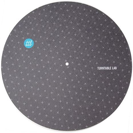 7. Turntable Lab's PH Slip mats: Suitable for both DJing and everyday listening, extra smooth surface, good protection and cushioning